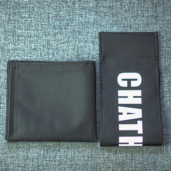 black replacement personalised canvas set for makeup and directors chairs