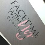 Personalised Grey Canvas For Makeup Artist and Directors Chair