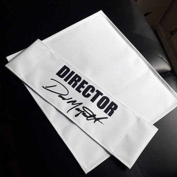 white replacement canvas for directors chair