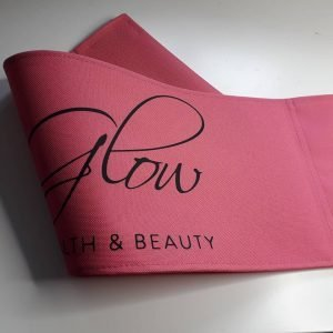 Personalised Pink Back Canvas For Tall Makeup Artist and Directors Chair