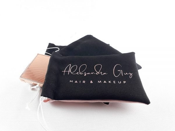 Personalised Cosmetics Bags Rose Gold