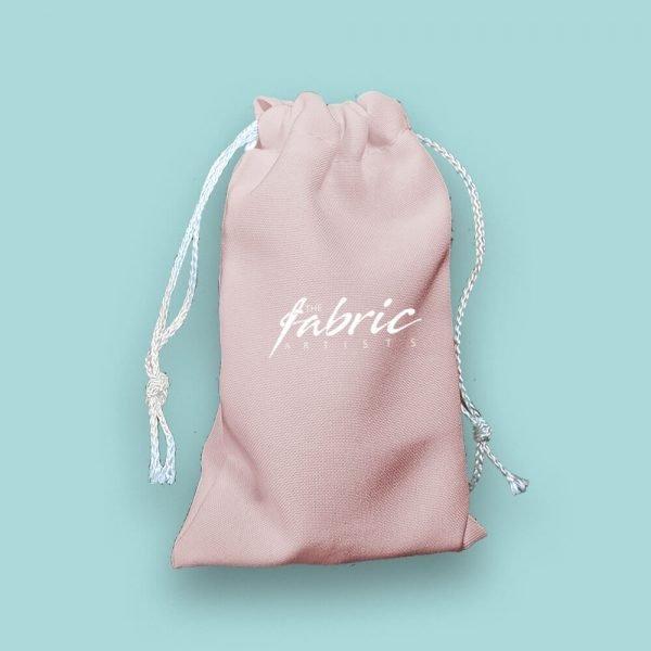 baby pink custom makeup bags